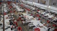 Minkštų baldų gamyba (nuotr. LRVK | Darius Janutis)