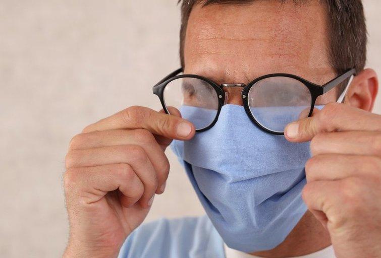 Kaukė ir akiniai (nuotr. Shutterstock.com)