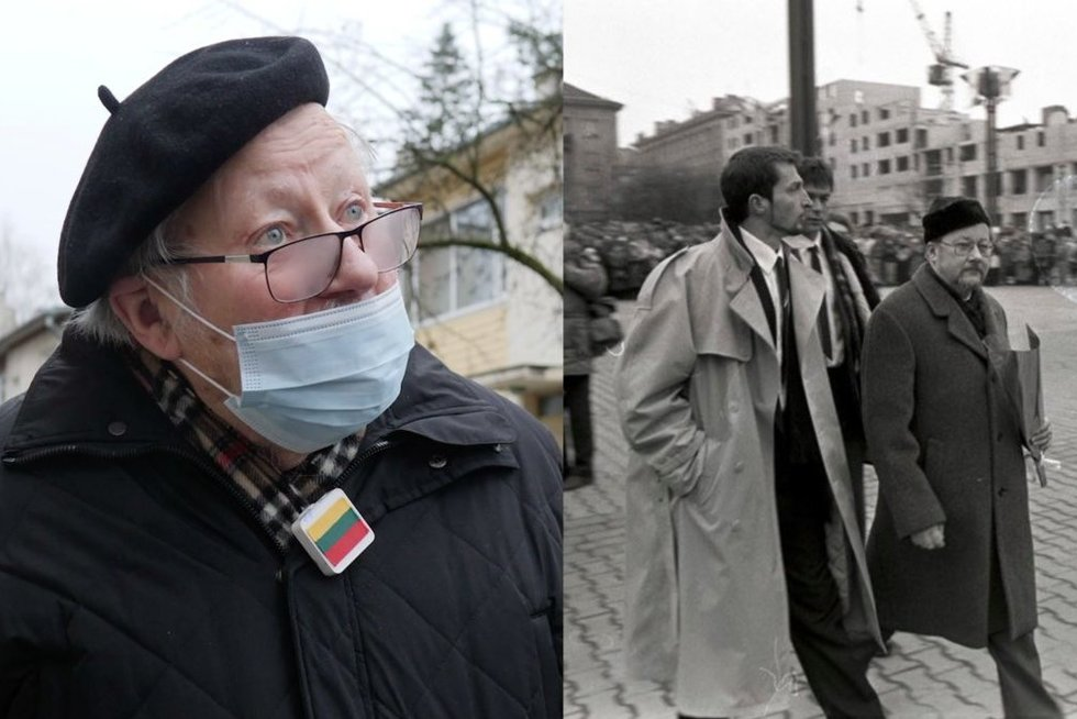 Vytautas Landsbergis prisiminė Sausio 13-ąją (nuotr. tv3.lt)