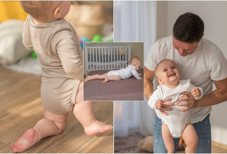 Jokūbas gimė be dešinio šlaunikaulio: tėvai kovoja už sūnaus galimybę vaikščioti (nuotr. asm. archyvo)
