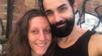 Davidas Garrero ir jo mergina Laura Noah (nuotr. Instagram)