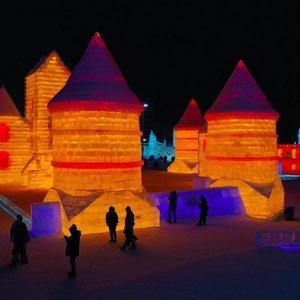Kinijoje pastatyta Trakų pilies kopija
