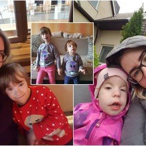 Abi klaipėdietės dukros atsidūrė klastingų ligų gniaužtuose: medikai to paaiškinti negali