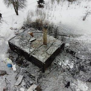 Trakų rajone įtariama žmogžudystė: po gaisro rasti dviejų vyriškių kūnai