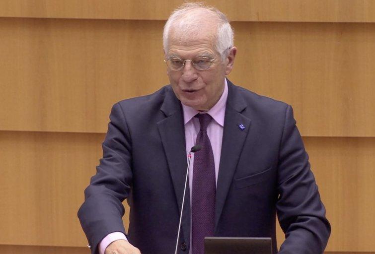 Josepas Borrellis (nuotr. stop kadras)
