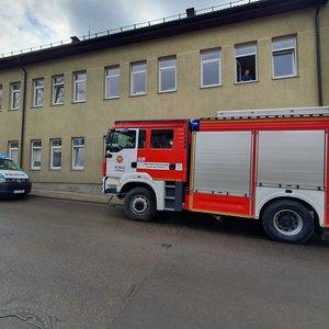Vilniuje dėl sprogimo globos namų katilinėje sukeltos specialiosios tarnybos