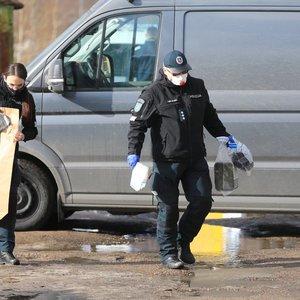 Vilniuje prie šiukšliadėžės rastas maišas su septyniomis prieštankinėmis granatomis