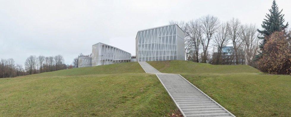 Nacionalinė koncertų salė (Vilniaus miesto savivaldybės vizualizacija)