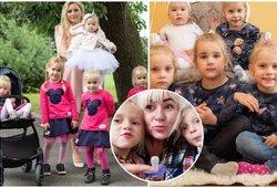 Žymiojo Tauragės ketvertuko mama Moters dienos nešvenčia: pasakė, kodėl