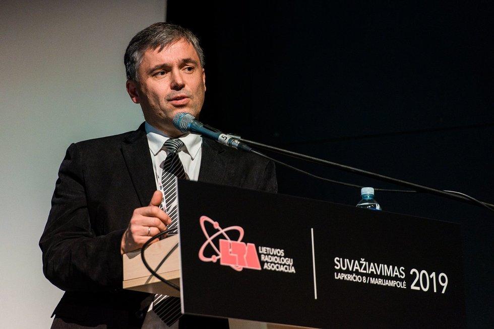 Andrius Macas (Lietuvos radiologų draugijos nuotr.)