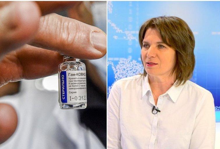 """A. Žvirblienė papasakojo daugiau apie """"Sputnik"""" vakciną"""