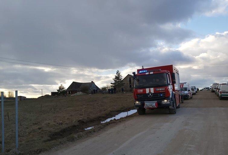 Skaudi paieškų atomazga: Telšių rajone dingęs 2-metis rastas negyvas (nuotr. TV3)