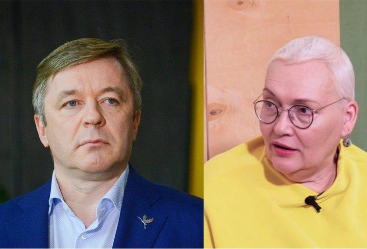 Karbauskis sureagavo į Maldeikienės kaltinimus priekabiavimu: keistu būdu reikalauja dėmesio (tv3.lt fotomontažas)