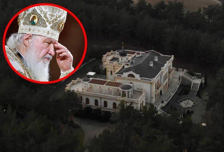 """Aptiko Rusijos bažnyčios patriarcho Kirilo poilsiavietę: prabanga nenusileidžia """"Putino rūmams"""" (nuotr. SCANPIX) tv3.lt fotomontažas"""