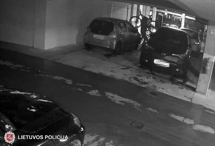 Vogtu dviračiu toli nenuvažiavo: sulaikė daug kartų teistą vyrą  (nuotr. Policijos)
