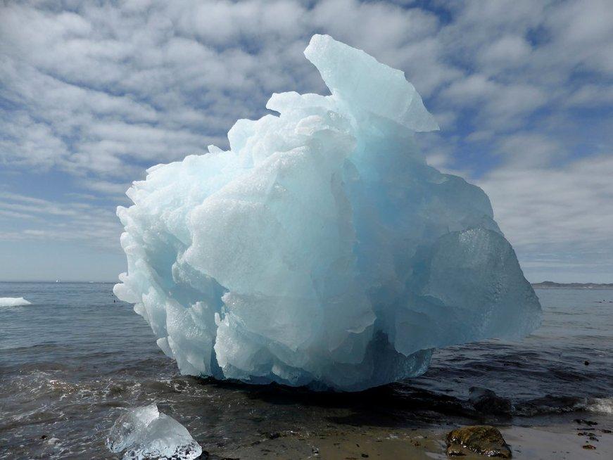 Grenlandijos ledynai tirps sparčiau, sako mokslininkai