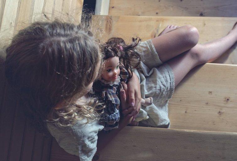 Mergaitė. Asociatyvi nuotrauka (nuotr. 123rf.com)