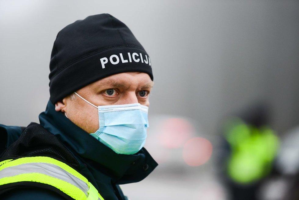 Policijos kontrolės postas