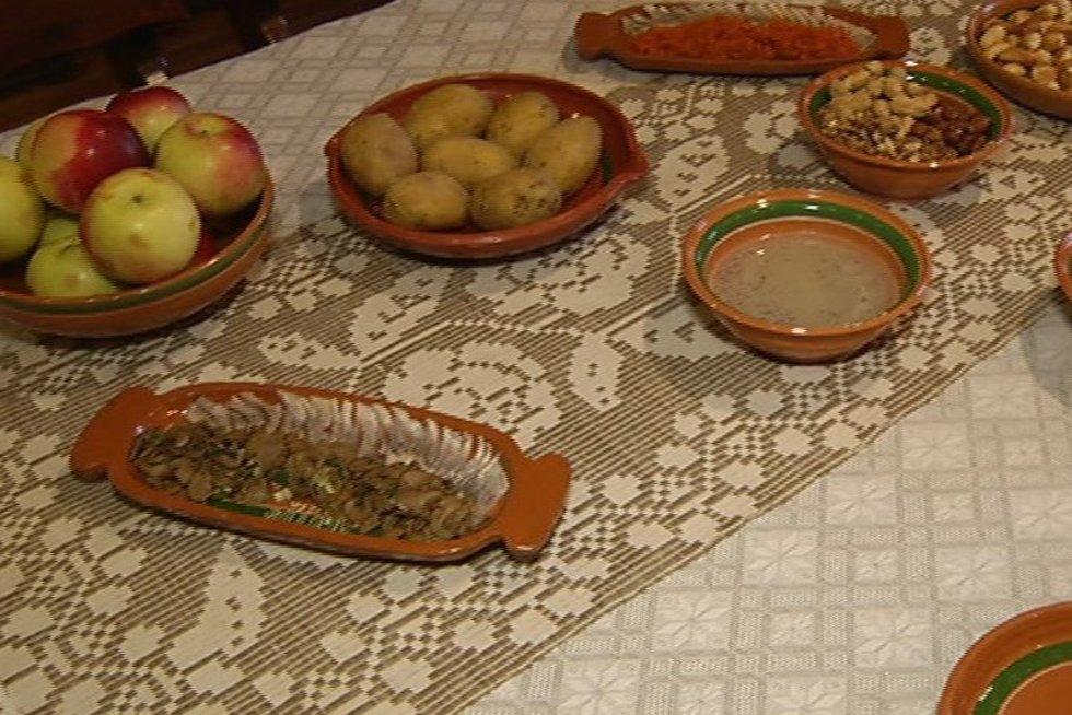 Kūčių vakarienė (nuotr. TV3)
