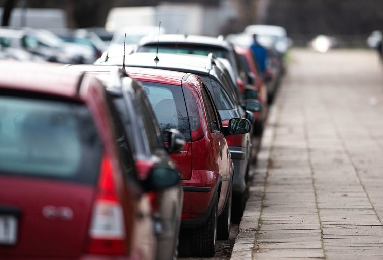 Automobiliai (nuotr. Fotodiena/Justino Auškelio)