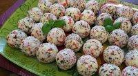 Pikantiški kamuoliukai (nuotr. asm. archyvo)