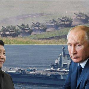 Rusijos ir Kinijos karinė galia baugina: šalys turi skirtingas užduotis