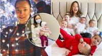 11 vaikų auginanti mama neplanuoja sustoti – ji sako, kad nori mažiausiai 100 vaikų (nuotr. Instagram)
