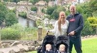 Policininkė šokiruota pagimdė vos 24 savaitę – jos sūnūs gimė kelių dienų skirtumu (nuotr. Instagram)