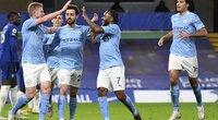 Manchester City žaidėjai (nuotr. SCANPIX)