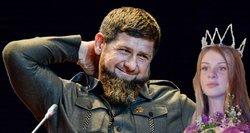 Kadyrovo žmonos: viena būdama 15-mete sudalyvavo vieninteliame Čečėnijoje grožio konkurse