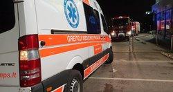 Raseinių rajone 70 metų vyras save padegė