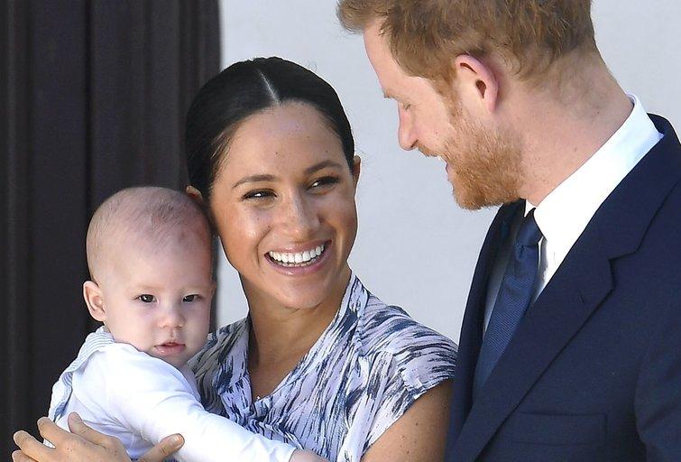 Princas Harry, Meghan Markle ir jų atžala