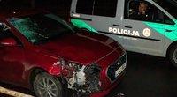 Vilniuje Antakalnio gatvėje girtas vairuotojas partrenkė ir mirtinai sužalojo dviratininkę (nuotr. Broniaus Jablonsko)