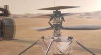 NASA mokslininkai ruošiasi sraigtasparnio skrydžiui Marse (nuotr. stop kadras)