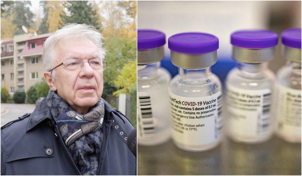 Infektologas Ambrozaitis įspėja – trečdalio lietuvių požiūris yra grėsmė nacionaliniam saugumui