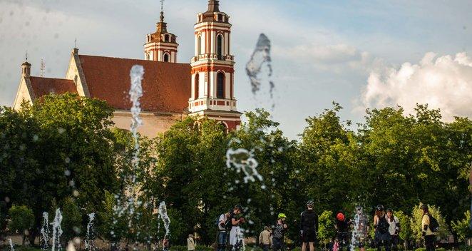 Vasara Vilniuje