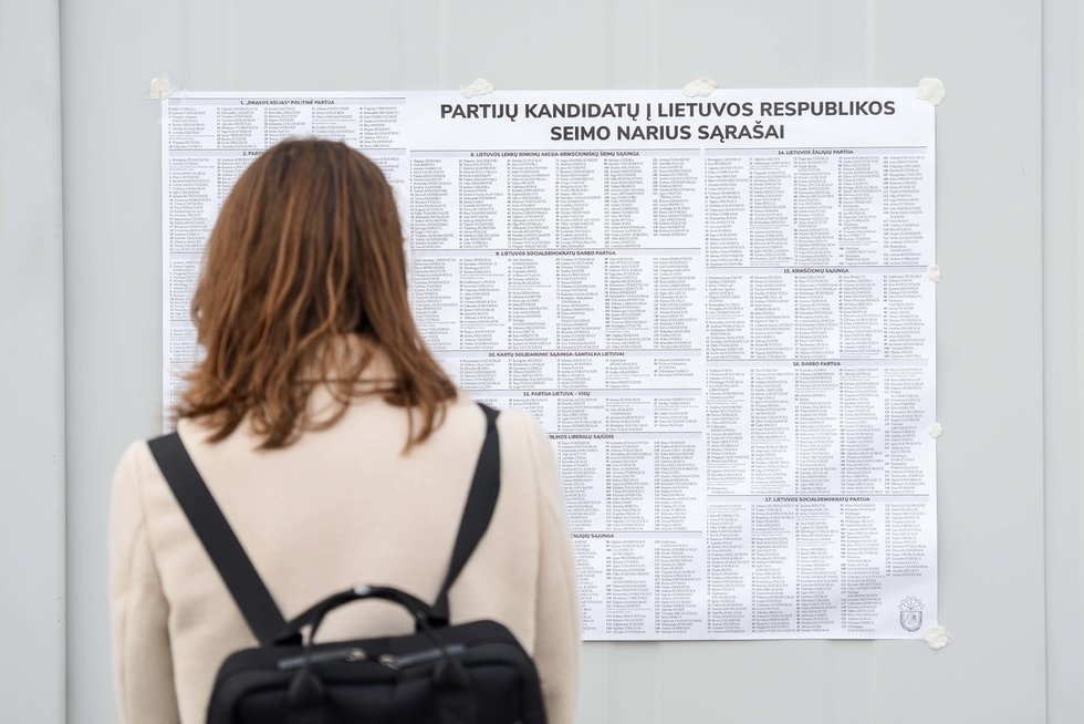 Išankstinis balsavimas Seimo rinkimuose
