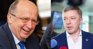 Andrius Kubilius ir Ramūnas Karbauskis (Fotobankas)