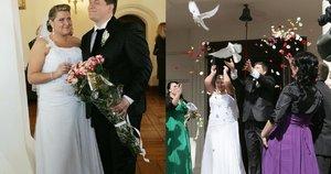 Erikos ir Merūno Vitulskių vestuvės (tv3.lt fotomontažas)