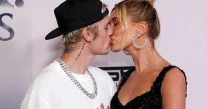Justin Bieber ir Hailey Baldwin (nuotr. SCANPIX)