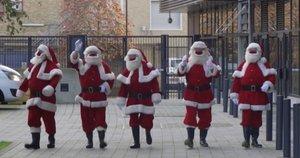 Kalėdų Seneliai (nuotr. stop kadras)