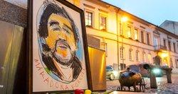 Maradonos atminimas pagerbtas ir Vilniuje