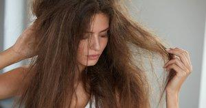 Susivėlę plaukai (nuotr. 123rf.com)