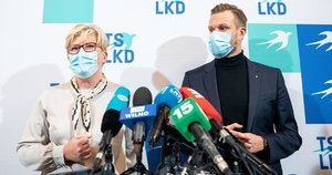 Ingrida Šimonytė ir Gabrielius Landsbergis (Irmantas Gelūnas/Fotobankas)