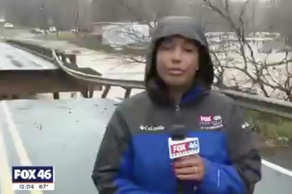 Reporterė (nuotr. stop kadras)